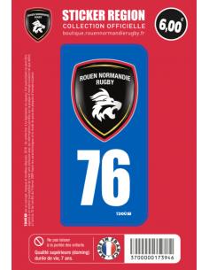 Sticker Voiture 76